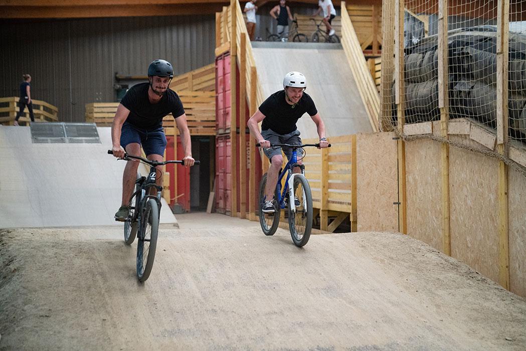 Séminaire à lyon - course salariés vélo
