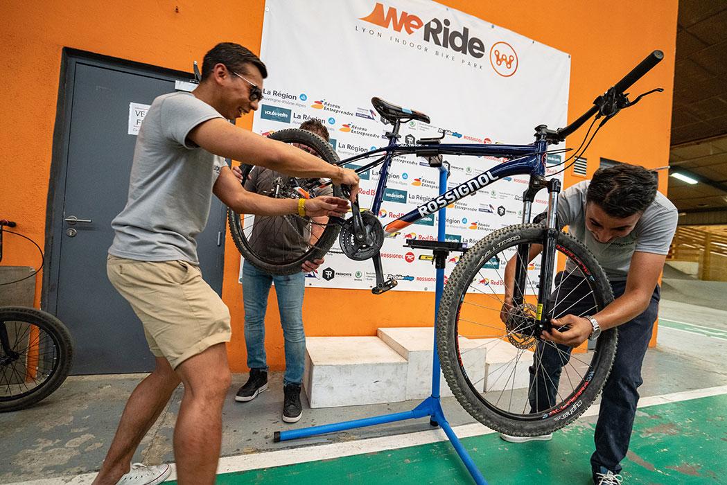 Séminaire à lyon - défi roue vélo