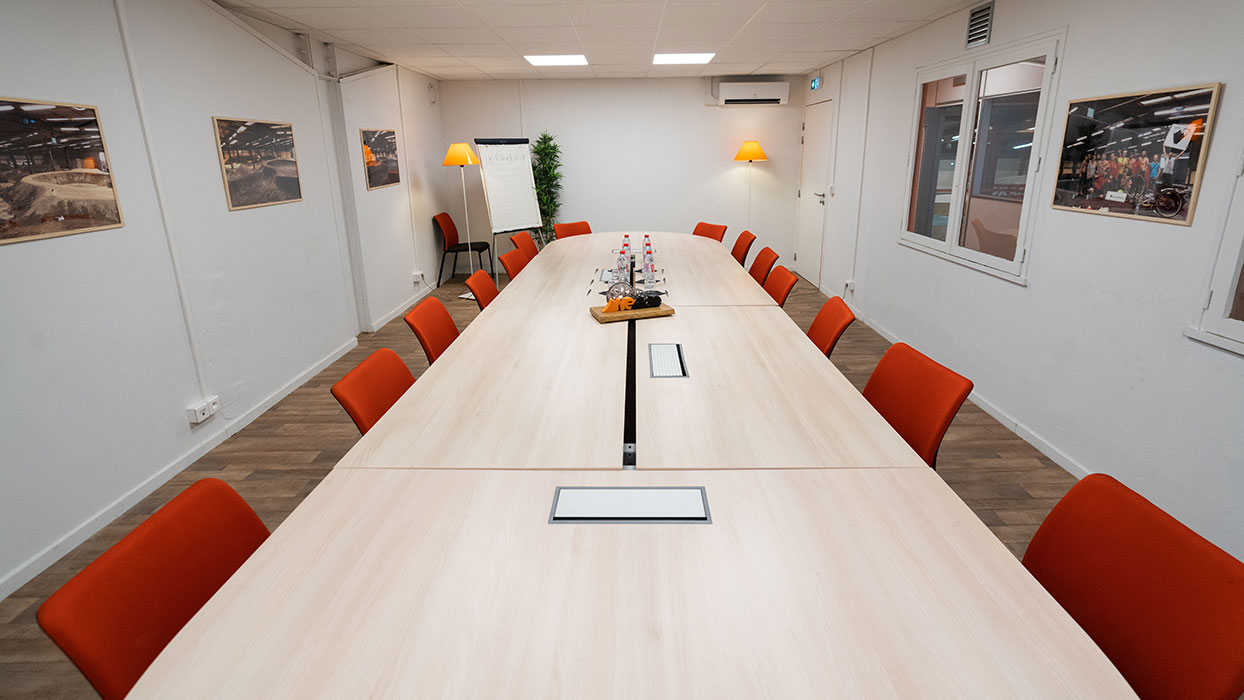 Seminaire à lyon - salle de réunion vide