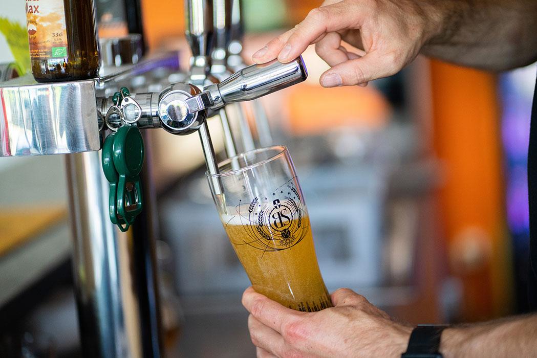 Séminaire à lyon - tireuse à bière - bar Weride